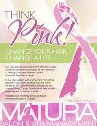 Matura Salon & Spa Management Kicks Off Breast Cancer Awareness Campaign