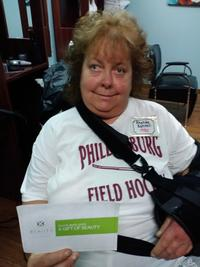 Rhonda Schneel, Brakeley Park Resident & Gift of Beauty Recipient