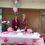 Field Manager Shellie Orcutt and Stylist Lisa Nester are ready for a great PINK event!