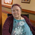 resident, Judy Berradi, looks great with pink!